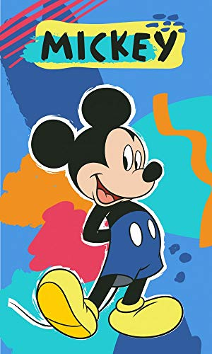 Carbotex Mickey Maus MIC191201-R Kinder-Handtuch 30 x 50 cm