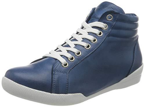 Andrea Conti 341718, Zapatillas Mujer, Jeans, 37 EU
