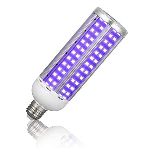 60W UV Sterilisator Lampe, Ozone LED E27 Mais-Birnen Tragbare UV-Lampen UV-C-Licht Leuchte Luftfilter für Haustiere,Lamp