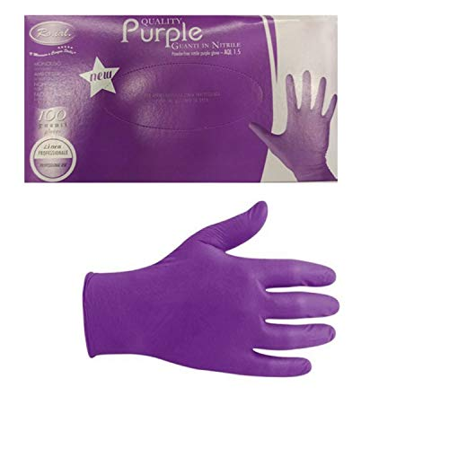 Gunati Nitrile Viola Ro.Ial. Purple 100pz tg. M