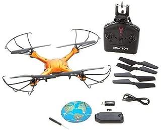 Propel Graviton Live Streaming Video Drone with Auto Start/Land Orange 571505