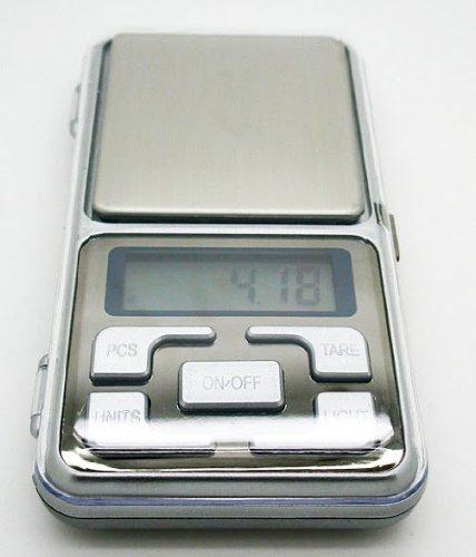 Balanza Digital de Precisión Portátil Ultraligera Luminosa Hasta 200 gr Intervalo de precisión 0.01 gr 2429