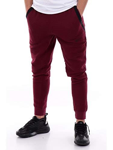 Nike Sportswear Tech Pack Men's Engineered Pants CU3595-638 Dark Beetroot/Black/Black Dark Beetroot/Black/Black XL