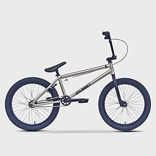 BMX 自転車 初心者から上級者向けの20インチBMXバイクフリースタイル4130クロムモリブデンスチールフレーム...