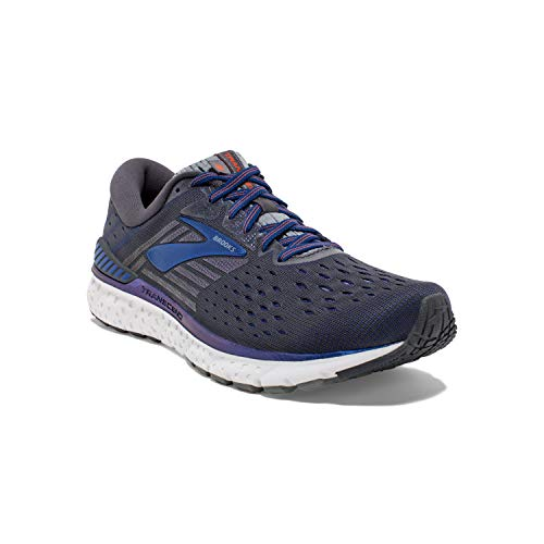 Brooks Transcend 6, Zapatillas de Running para Hombre, Gris (Ebony/Blue/Mandarino 092), 45.5...