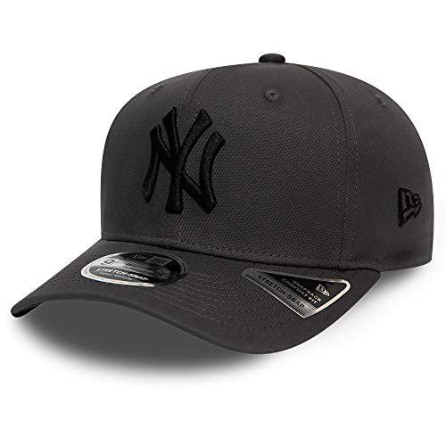 New Era New York Yankees Graphite Black Tonal Stretch Snapback Cap 9fifty 950 SM