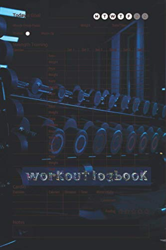 Workout logbook: Your Fitness logbook Over 145 Days of Workout Tracking and Goal Setting. Easily Keep Track of Your Workouts and Body Measurements click to see more.................