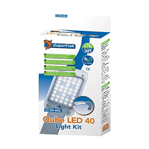 SuperFish QUBE LED 40 - Aquarium Verlichting - 3,5W
