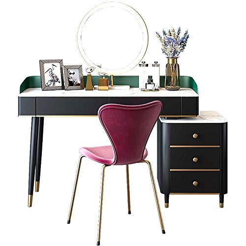 Best Bargain Tuuertge Vanity Set for Women Simple Bedroom Storage Dressing Table Multi-Functional Ma...