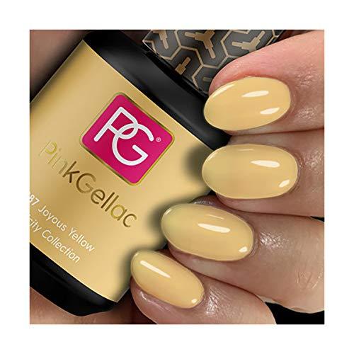 Gel Nagellak Pink Gellac Kleur 287 Joyous Yellow