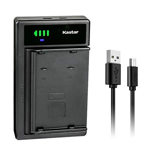 Kastar Smart USB Battery Charger Compatible with JVC BN-V11U BN-V12U BN-V14U BN-V18U BN-V20U BN-V22U BN-V24U BN-V25U Battery, JVC GR-SXM960U GR-SZ1 GR-SZ3 GR-SZ7 GR-SZ9 GR-SZ9U XM-D1BK