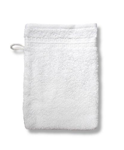 Dodo AC97773600 Caresses Lot de 2 Gants de Toilette Blanc 16 x 22 cm