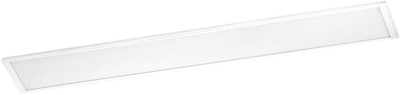 EGLO Salobrena 1 Rasterleuchte, Aluminium, Integriert, Wei, 120 x 30 x 1.1 cm