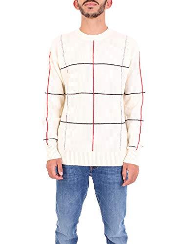 Calvin Klein K MW K10K104526 Herren-Trikot YBL Weiß XL
