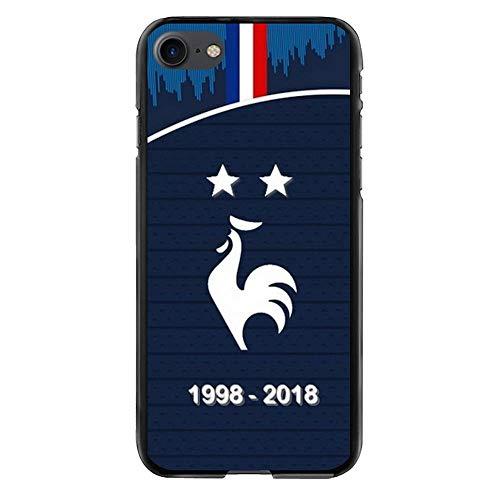 Carcasa rígida para iPhone 7 y 8, diseño del Campeón del Mundo 2018-Coque-SWAG