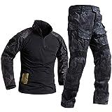 SR-Keistog Fuerzas Especiales Soldado Tácticas Airsoft Militaire Camuflaje Táctico Uniforme Militar Camisa Combate Pantalones TYP XL