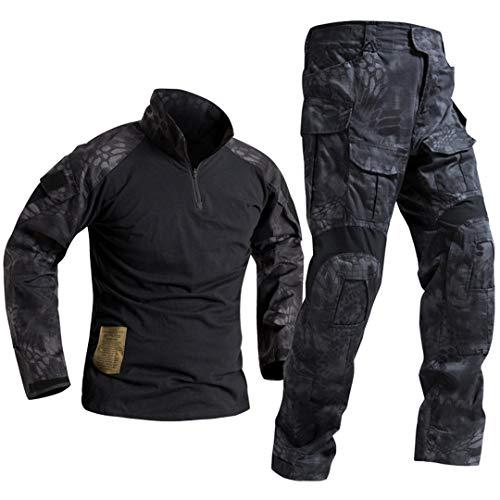 SR-Keistog Fuerzas Especiales Soldado Tácticas Airsoft Militaire Camuflaje Táctico Uniforme Militar Camisa de Combate Pantalones TYP XL