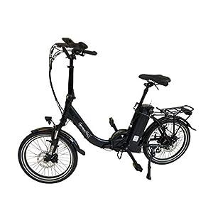 GermanXia E-Bike E-Faltrad/Klapprad Mobilemaster Touring CH 7G Shimano 20 Zoll mit Drehmoment-/Bewegungssensoren, eTurbo 250 Watt HR-Antrieb, bis zu 156 km Reichweite nach StVZO