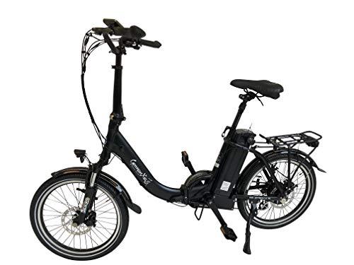41oai1crHNL - GermanXia E-Bike Faltrad Mobilemaster E-Klapprad Touring CH-15,6 7G Shimano 20 Zoll mit/ohne Gasdrehgriff, eTurbo 250 Watt HR-Antrieb, bis zu 140 km Reichweite nach StVZO