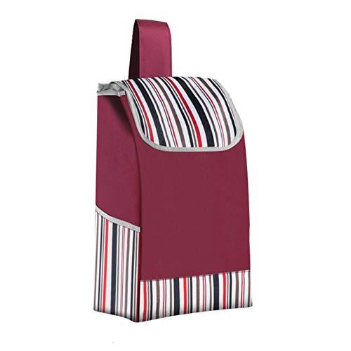Bolsa De Repuesto De La Carretilla, Bolsas De Picnic Impermeables, con Bolsillos Laterales Bolsa De Repuesto para Carritos (Color : B)