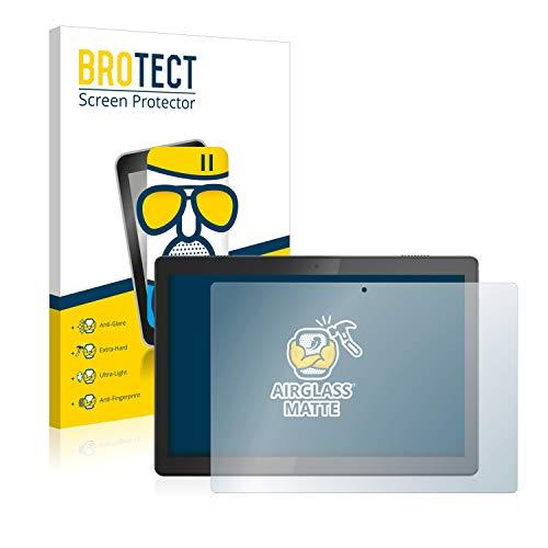BROTECT Protector Pantalla Cristal Mate Compatible con Lenovo Tab M10 TB-X505F Protector Pantalla Anti-Reflejos Vidrio, AirGlass