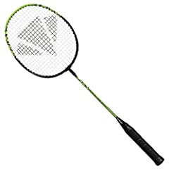 Tempered-steel frame retains its shape through game after game Sturdy grip allows novice players to get a secure handle on the racquet and master basic swing techniques Isometric head shape has a larger sweet spot to help players make contact with th...