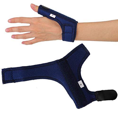 Daumenstabilisator, Daumenschiene, Daumenbandage Fingerschiene Daumenstütze Daumenschienenstütze Atmungsaktiver Stabilisator für Daumen und Handgelenk an der rechten und linken Hand(1#)