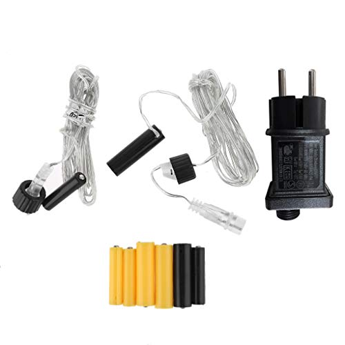 Batterieadapter AA und AAA Batterien, Netzteil Adapter Batterieadapter Zubehör für Fernbedienung/Lichterkette/LED Kerze/LED Timer/LED Bild (AA+AAA)