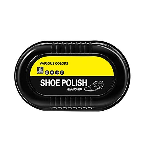 YWZQ Schwammschuh Wachs Schwamm Schuhbürste Schuhputz Schwamm Instant Shine für Lederschuhe Stiefel Langlebig