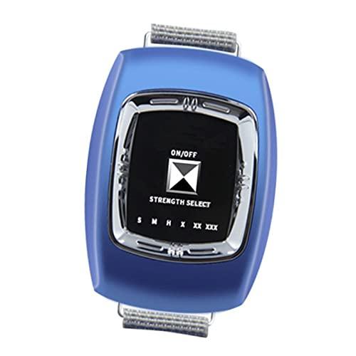 GJXJY Anti Ronquidos Pulsera con 3 Modos y 6 Engranaje Ajustable, 2021 Muñequera Antirronquidos Dispositivos, USB Recargable Reloj Antirronquidos para Mujeres Y Hombres