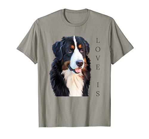 Bernese Mountain Dog Shirt Women Men Kids Dog Mom Love Tee T-Shirt