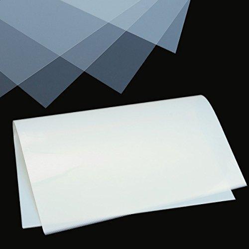 CHIMAKA 10 Stücke A3 Klare Transparenz Siebdruck Tintenstrahldrucker Filmpapier Neues DIY Zubehör