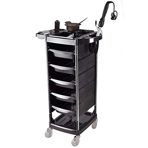 WLD Carro de almacenamiento Kekeyang - Carro de peluquería, herramienta de peluquería, gabinete de...