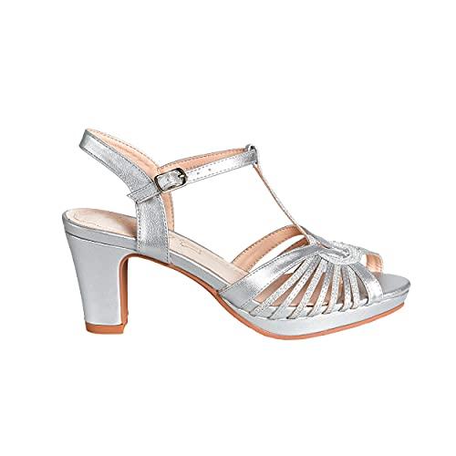 NO ES LO Mismo Calzado Mujer Spring/Summer 2021 Zapato de Tacón para...
