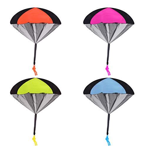 Juguete Paracaídas Lanzar Aire Libre Soldados Cometas
