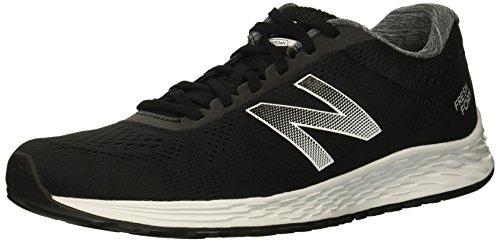 New Balance Men's Arishi V1 Fresh Foam Running Shoe, Black/White, 11.5 D US