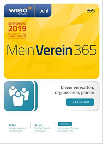 WISO Mein Verein 365 - teamwork - Edition (2019) | 2019 | PC | PC Aktivierungscode per Email