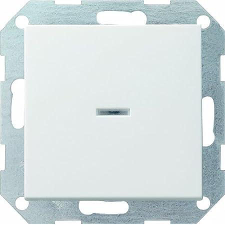 Gira 283401 Wippschalter Aus 2p Kontroll 20a System 55 Cremeweiß Baumarkt