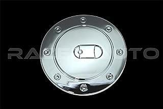 For 2007-13 Chevy Silverado Upper Mirror Gas Tank Fuel Door Cap Chrome Cover