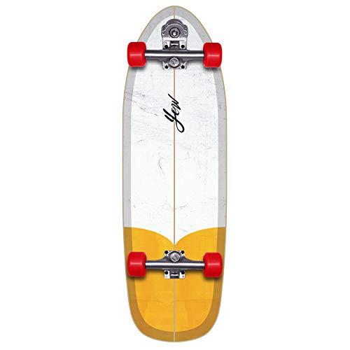 YOW Fistral Skateboard The First Surfskate für Erwachsene, Unisex, Mehrfarbig (Mehrfarbig)