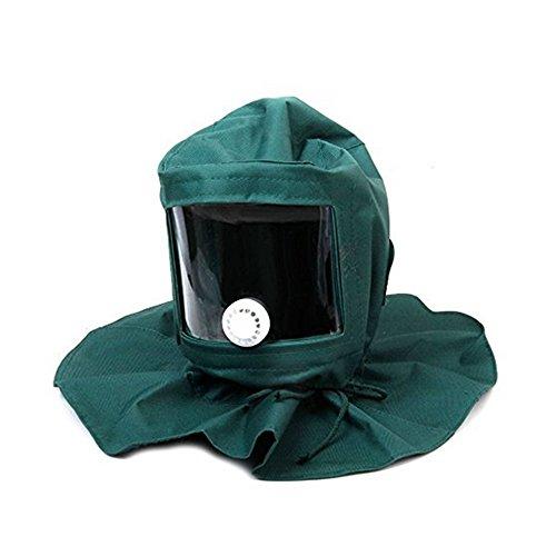 NaiCasy Sabbia Faretto sabbiatura aspirante protezione Maschera anti Tools vento Maschera