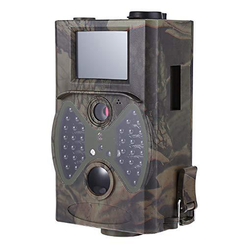 DLMYZ wasserdichte Wildkamera Mit Bewegungsmelder Fotofalle 36 IR LEDs 20M Nachtsichtkamera 1080P Full HD Jagdkamera Überwachungskamera Für Wildtierjagd Heimsicherheit