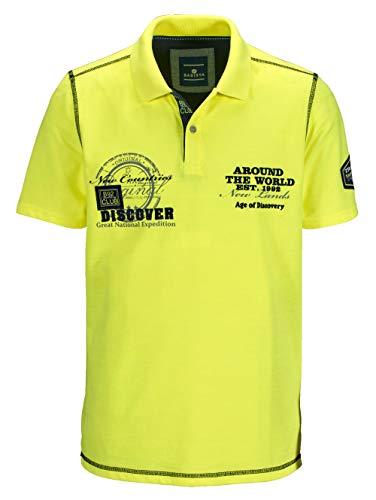 BABISTA Herren Poloshirt Neongelb 66 Baumwolle