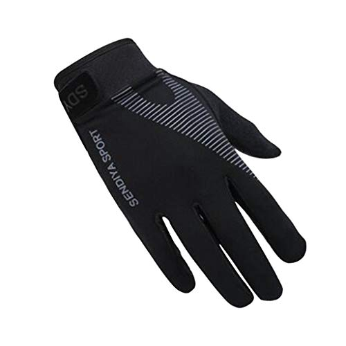 daimofs Full Finger Mountain Cycling Gloves, Anti-Shock Padded Bike Motorcycle Outdoor Sport Gloves for Men/Women