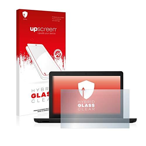 upscreen Hybrid Glass Panzerglas Schutzfolie kompatibel mit Lenovo ThinkPad E570 9H Panzerglas-Folie