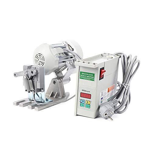 Servomotor - Motor para máquina de coser (650 W, ahorro de energía para máquina de coser industrial, 500-4000 rpm)