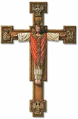 Christus Rex Wall Crucifix Christ the King 13 Inches