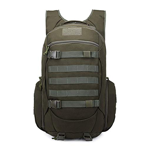XWX PlayerUnknown's Battlegrounds The Same Three-level Bag Canvas Backpack Female Tactical Army Bag Male Chicken Backpack Mountaineering Bag (Color : B)