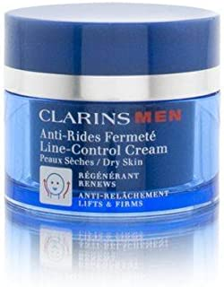 Clarins Men Line-Control Cream Dry Skin Care, 1.7 Ounce