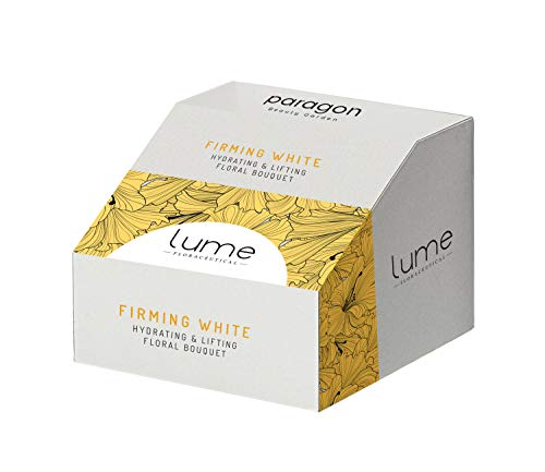 Lume by Paragon Beauty Garden 7 step Firming White Skin Care Facial Kit   A Brightening & Whitening Skincare Pack   Suitable For all Skin Type   Professional Salon Range   Single Usage